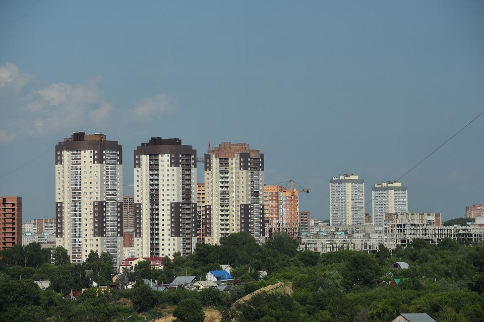 miasto - wysokie budynki